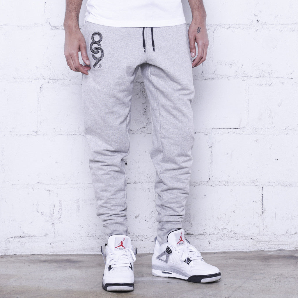 8and9 joggers heather grey