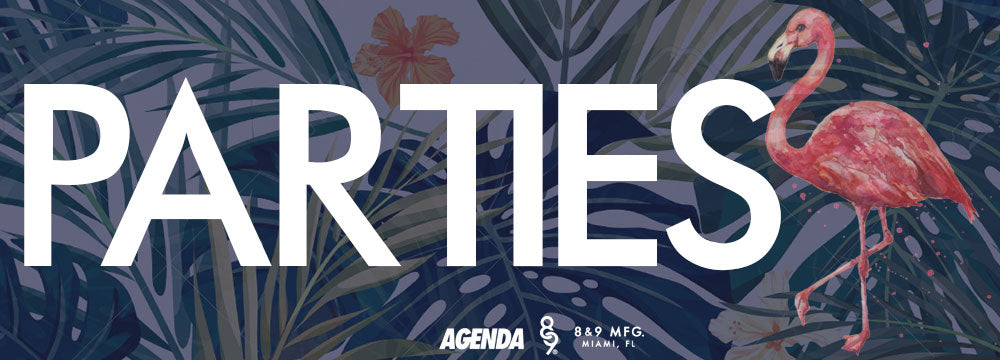 Agenda Miami 2016 Guide Parties