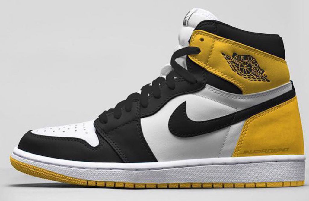 super popular 7f618 fcea8 Air-Jordan-1-Yellow-Ochre