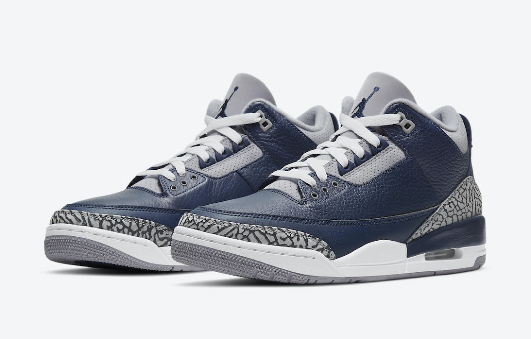 Air-Jordan-3-Midnight-Navy