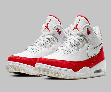 official photos ce2c4 7216f Air-Jordan-3-Tinker-White-Varsity-Red-2019-