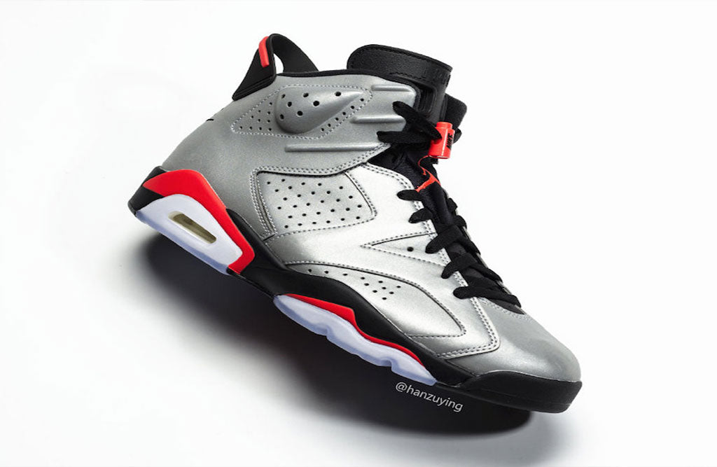 new concept 7b157 9d99d Air Jordan 6 Reflective