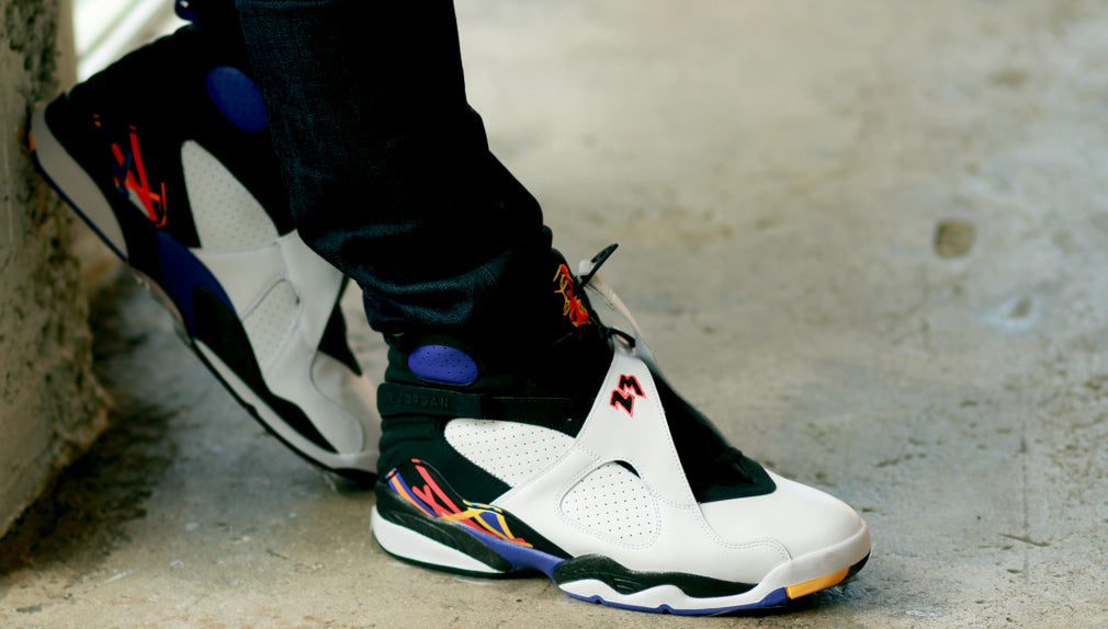 the latest 2e1c9 e3a43 Air Jordan 8 Tree Time s A Charm On Foot Pics