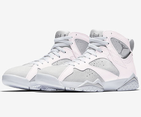 Air Jordan 7 metallic silver 2017 release