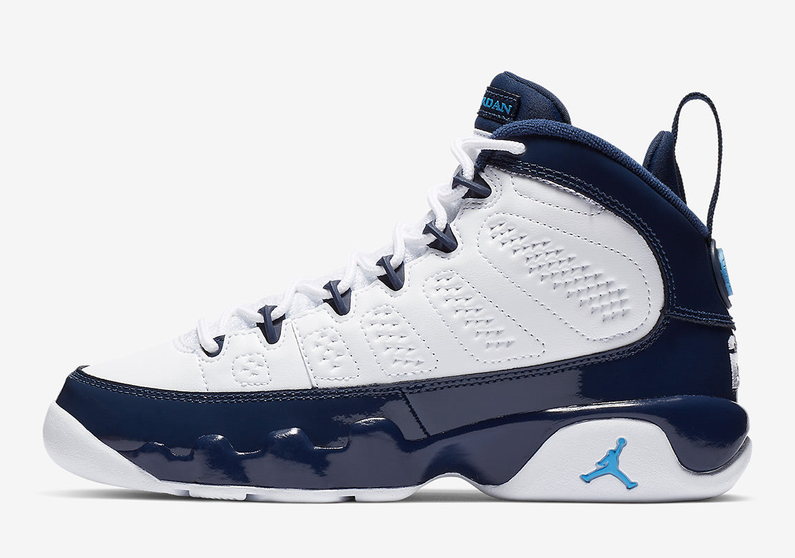 52360a84488 Air Jordan 9 UNC 2019 Release Midnight