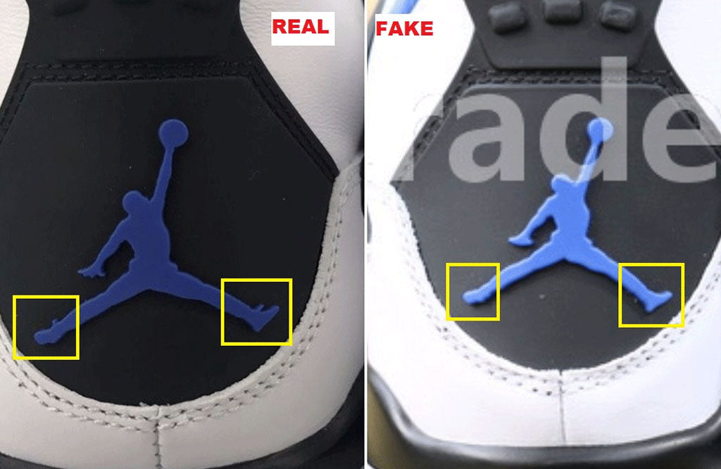 How to Spot Fake Jordans Jordan 4 8f019a143