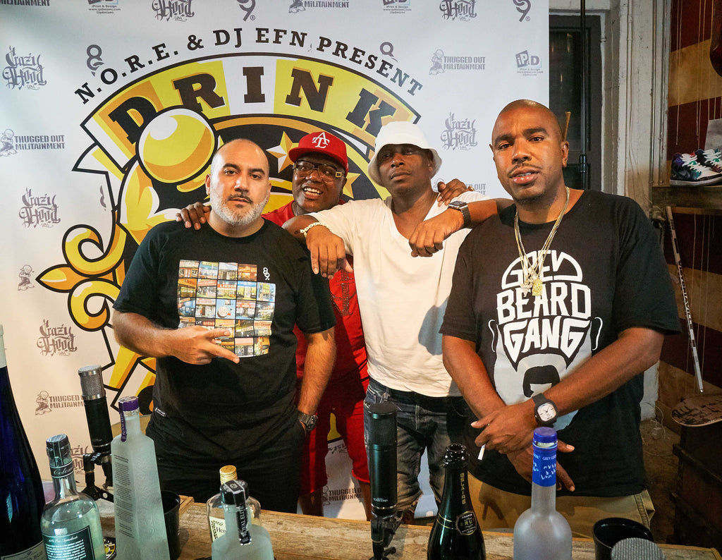 Jack Thriller and Combat Jack Drink Champs