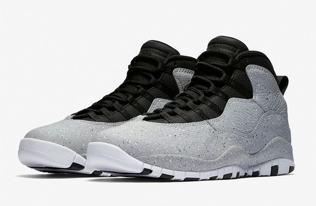 new styles 22971 a54b6 Air Jordan 10 smoke grey