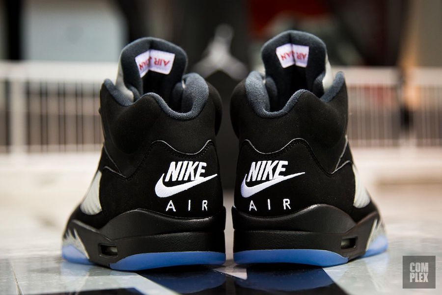 Jordan 5 Black Metallic Returns July 2016 Complex 2