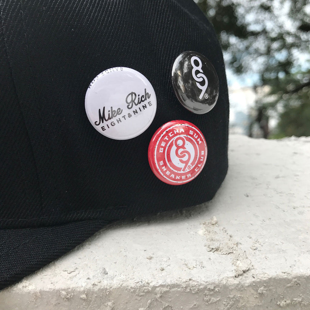 Mike Rich Cleansed Snapback Baseball Hat detail