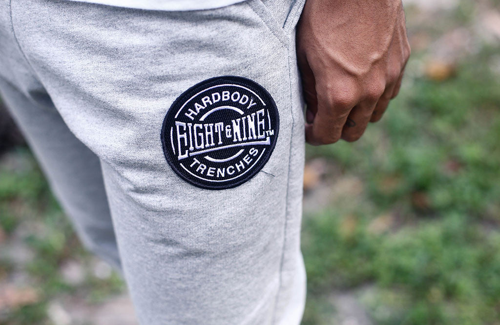 New HardBody Jogger Sweatpants Added In 3 Colors! heather detail