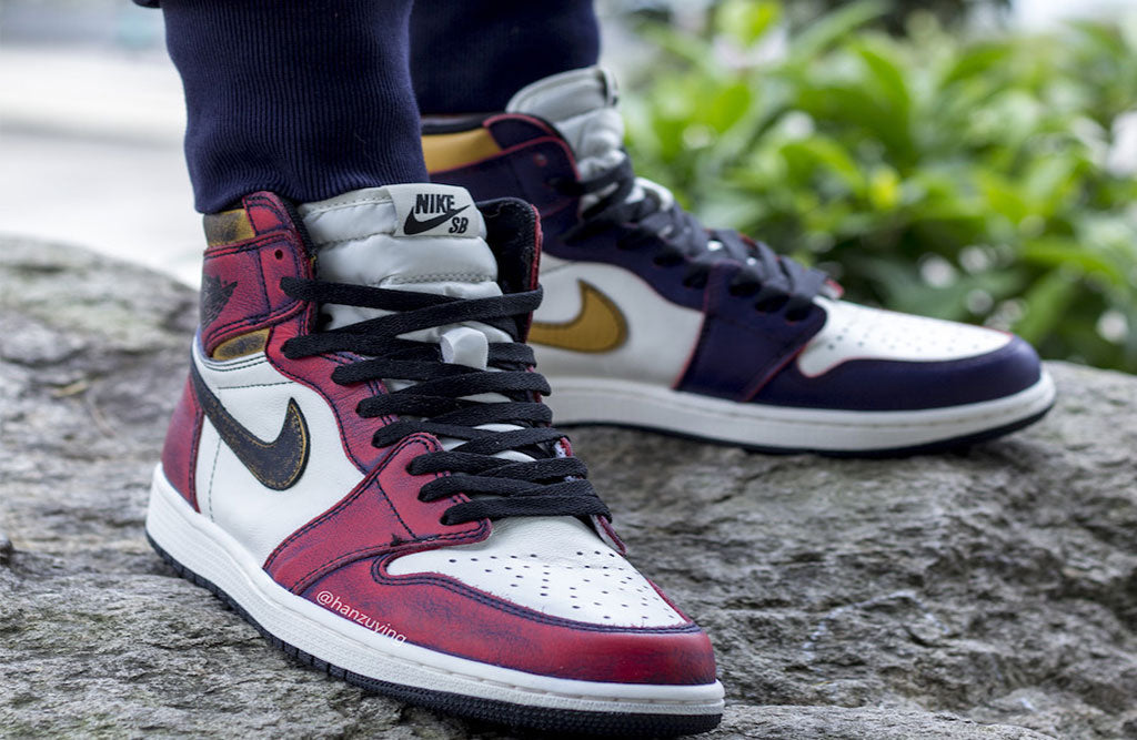 promo code fd542 9a3bc Nike SB Air Jordan 1 Retro Hi OG Lakers Chicago