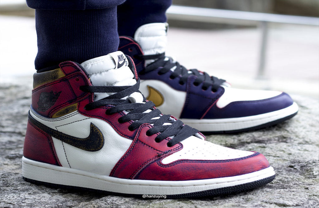 new arrival 365a8 9723f Nike SB x Air Jordan 1 Retro High OG Lakers