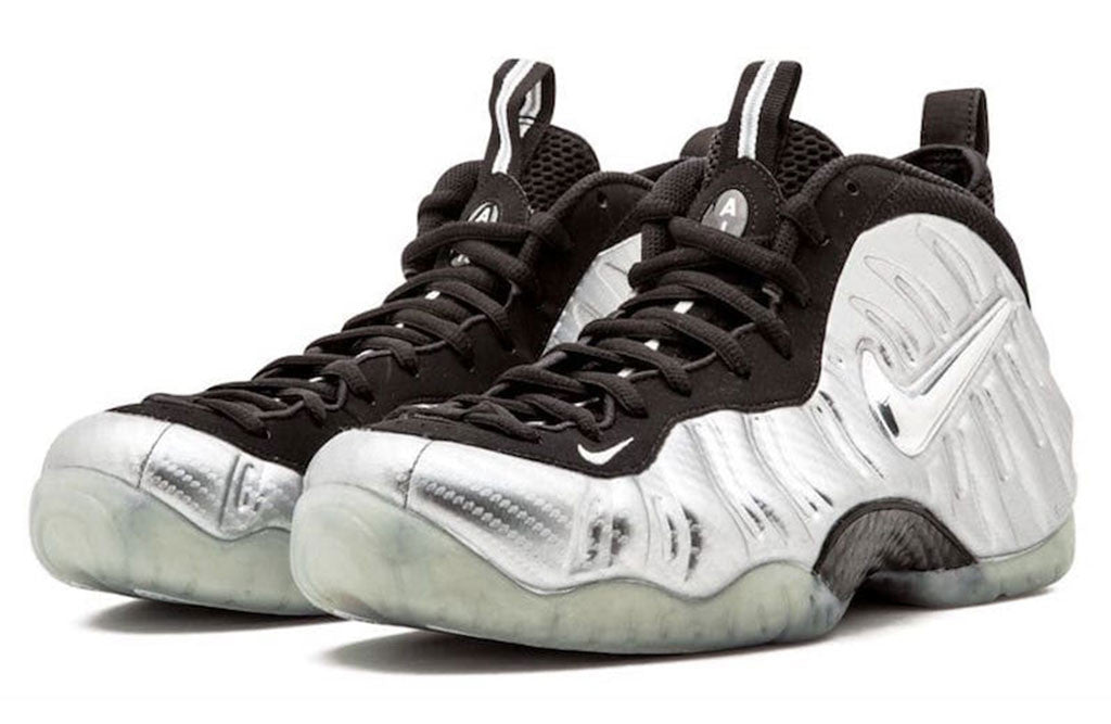 premium selection 03ae8 ad369 Nike Air Foamposite Pro Silver Surfer   Silver Surfer Foams   8 9 Clothing  Co.