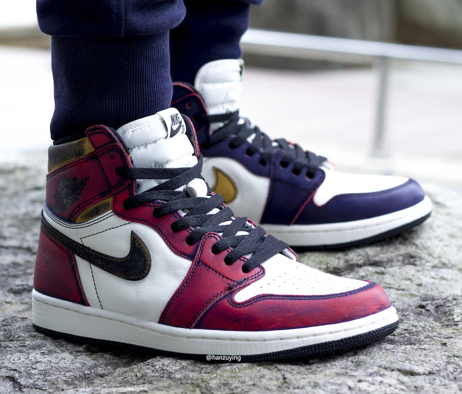 promo code eeabd 60399 Nike SB Air Jordan 1 Retro Hi OG Lakers Chicago