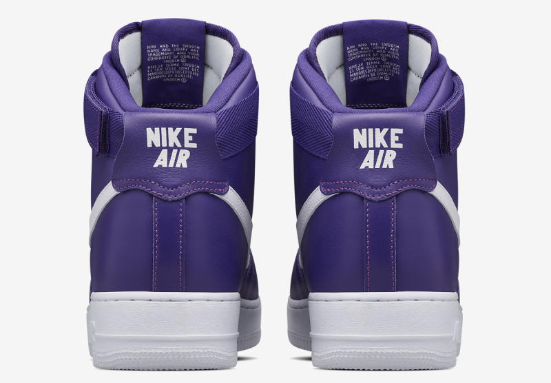 OG nike air force 1 high varsity purple