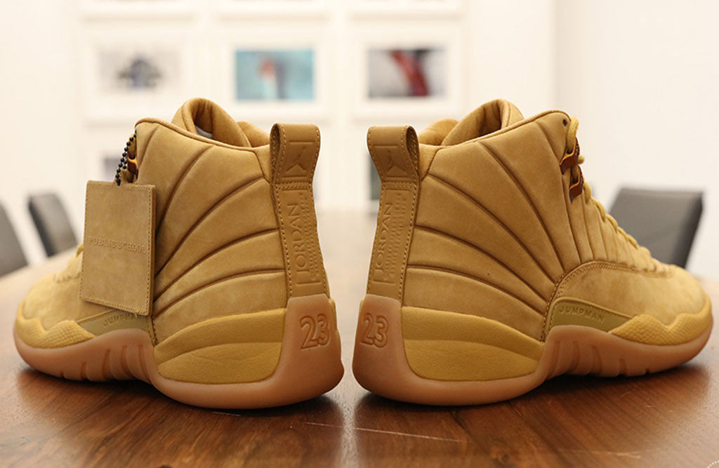 PSNY X Jordan 12 Wheat Release back