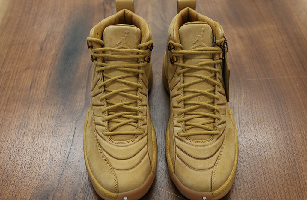 PSNY X Jordan 12 Wheat Release top