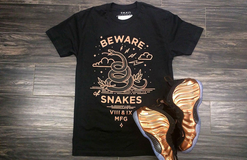 Shirts To Match 2017 Copper Foamposites Beware