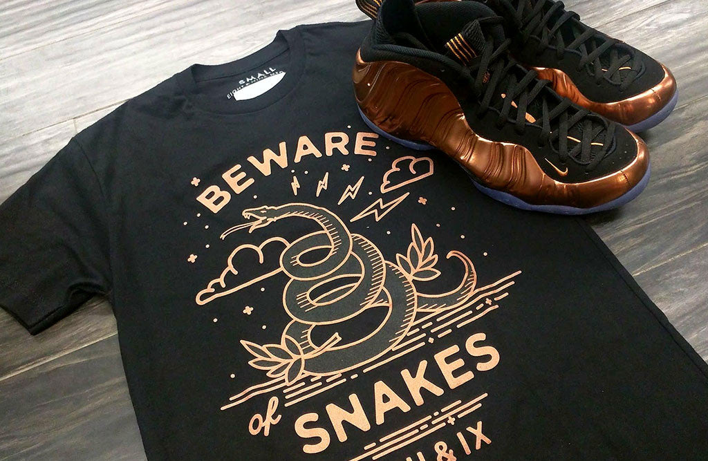 Shirts To Match 2017 Copper Foamposites beware Close