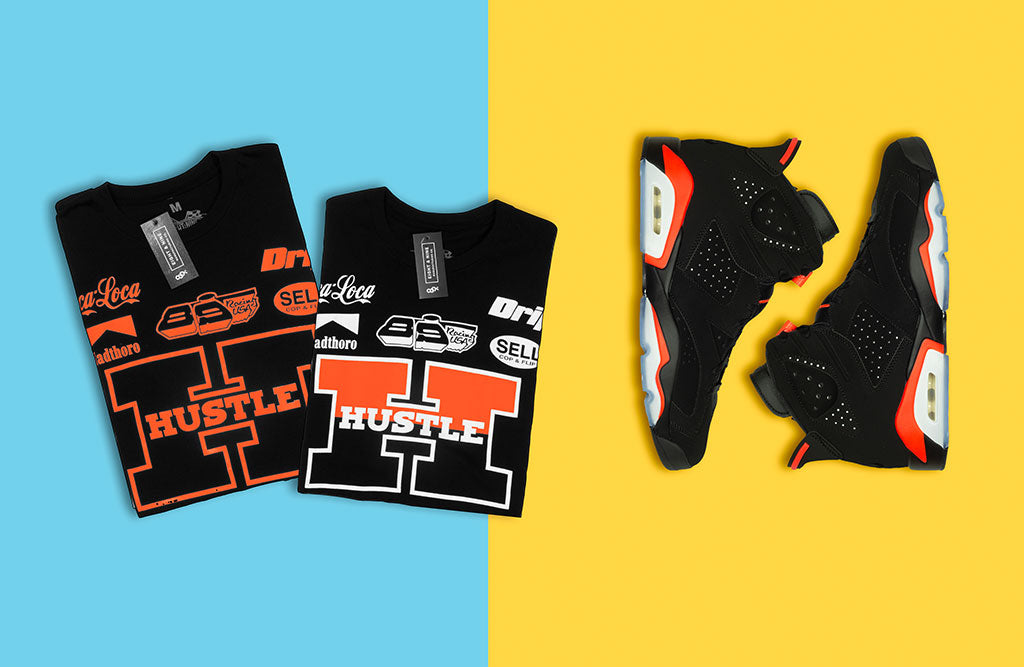 huge selection of 696cb a3b41 Shirts to match Jordan 6 Infrared 2019 Release