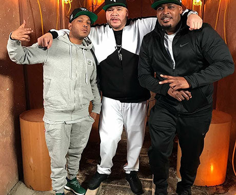 Styles P Spotted Wearing Rocky Flight Sweat Suit on Fat Joe Coca Vision Podcast
