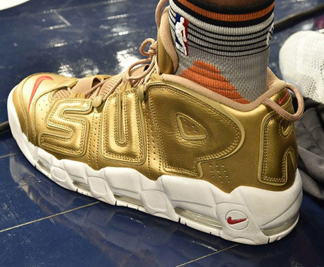 Supreme x Nike Air More Suptempo Release