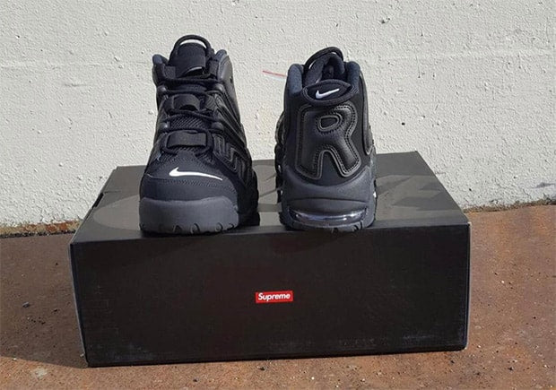 Supreme x Nike Air More Suptempo Release front