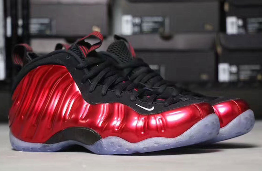 The Red Metallic Foams Are Back For 2017!