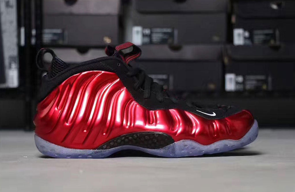 The Red Metallic Foams Are Back For 2017! left
