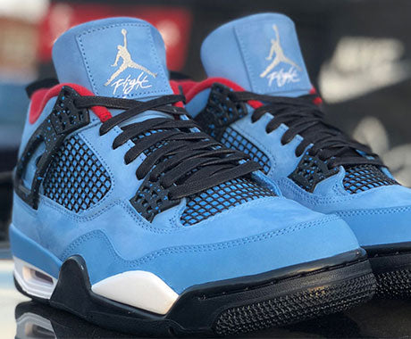 Travis Scott Air Jordan 4 Houston Oilers Release Date