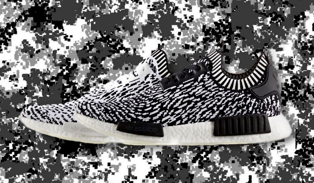 "super popular be640 cb749 ADIDAS NMD R1 PRIMEKNIT ""ZEBRA"" PACK"