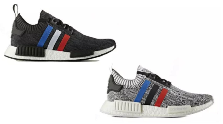 "5c9786f52 HE ADIDAS NMD PRIMEKNIT ""TRI-COLOR"" PACK. adidas-nmd -pk-red-white-blue-stripes"