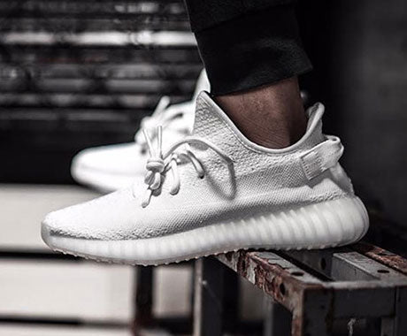 adidas 350 Boost V2 White 2017 Release