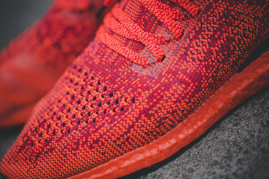 Adidas Ultra Boost Uncaged Triple Red Scarlet Solar Red Core Black Bb4678 New Release