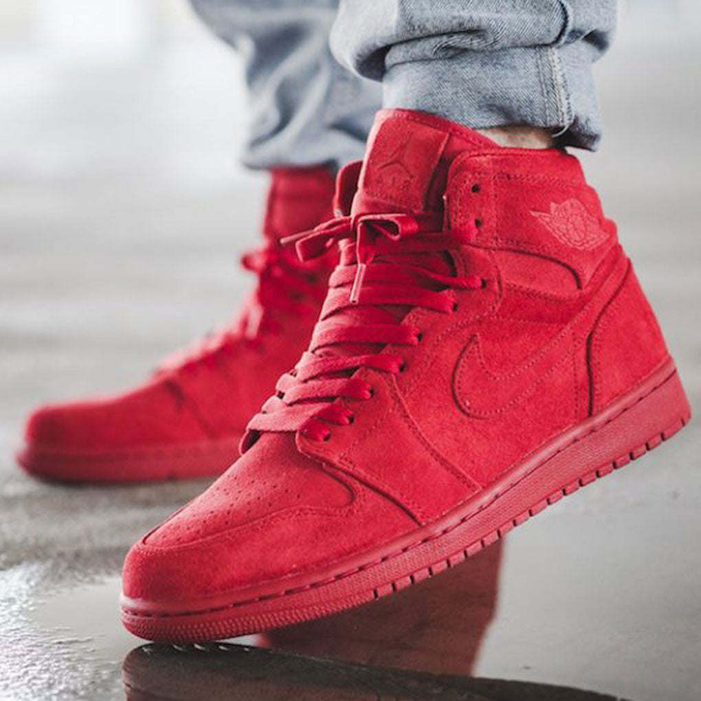 air-jordan-1-red-suede-on-feet