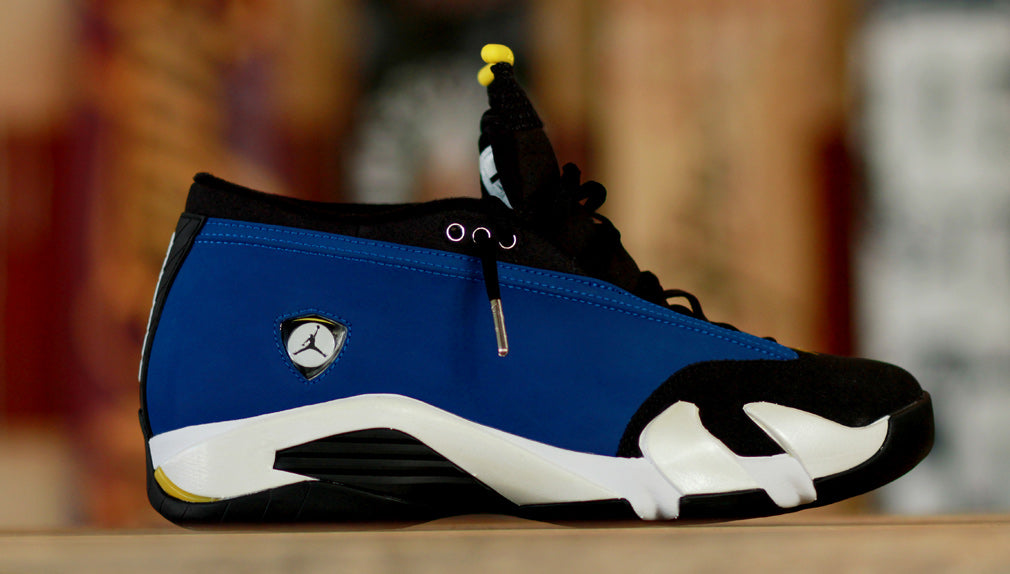 "in stock cebc2 4e363 Air Jordan 14 Low ""Laney"" Release 