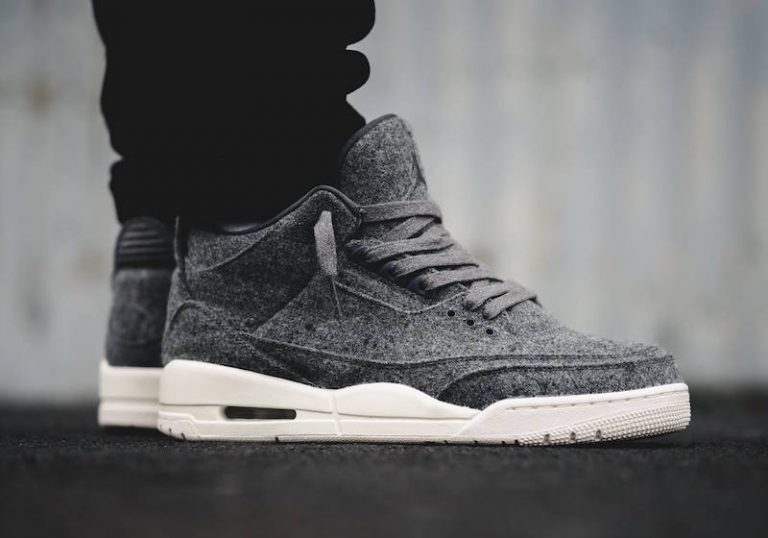 air-jordan-3-wool-on-feet-detail
