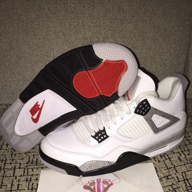 910ff1069714 air-jordan-4-retro-nike-air-2016. The Air Jordan 4 White Cement with ...
