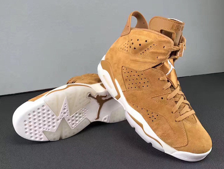 "2ab9ff8a0e2 THE AIR JORDAN 6 ""GOLDEN HARVEST"" 
