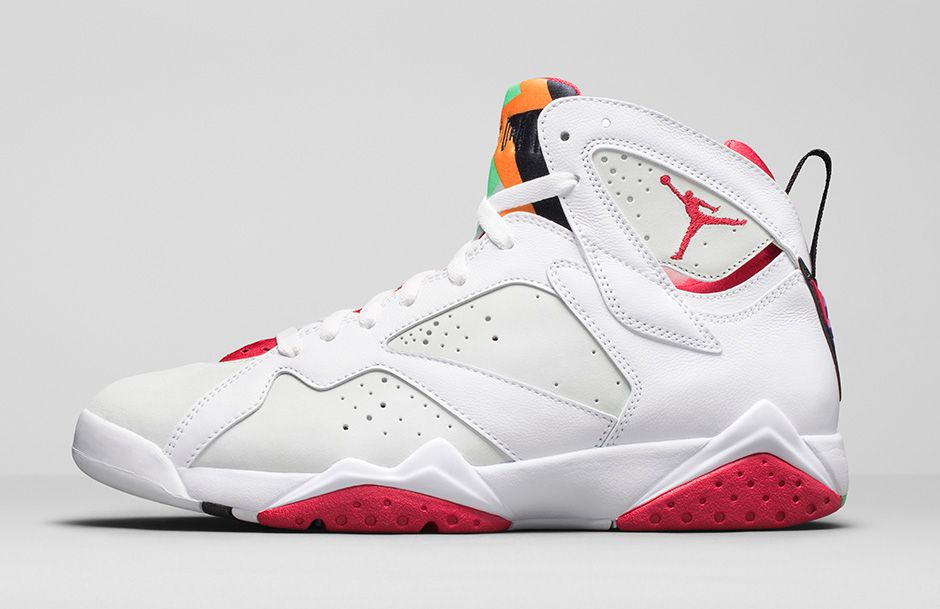 4eeb49970a0 ... of the popular Air Jordan 7 model, and following the release of the the  Hare 1s', the original 'Hare' colorway has been remastered for a May 16th  2015 ...