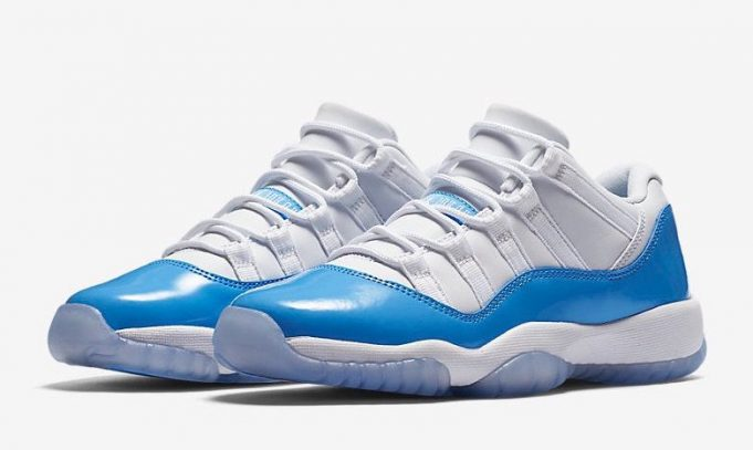 air jordan 11 low university blue (3)