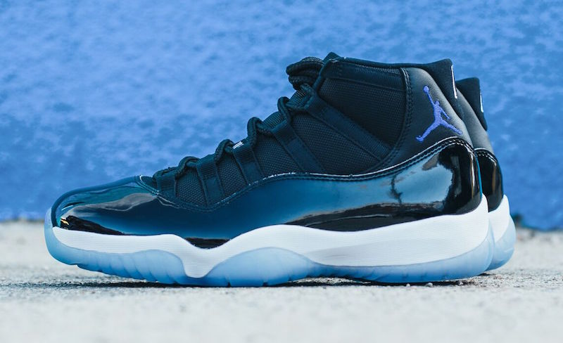 air jordan 11 space jam official release date