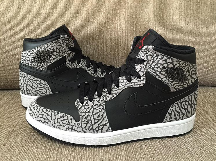air jordan 1 unsupreme elephant print (1)