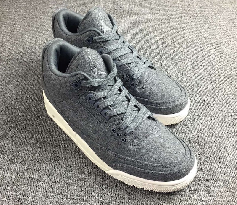 "THE AIR JORDAN 3 ""WOOL"""