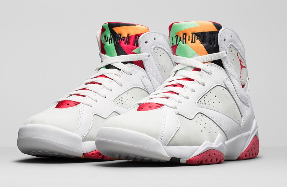 1da3cd1e73f The highly anticipated Jordan Hare 7 has returned! Marking the 23rd  Anniversary of the popular Air Jordan 7 model, and following the release of  the the Hare ...