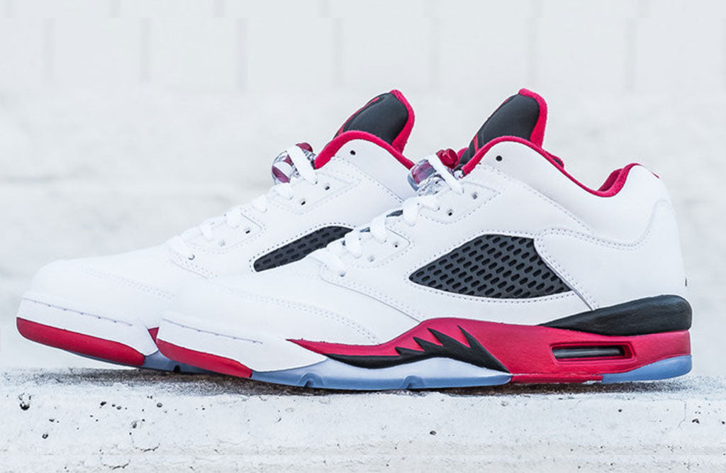 air jordan fire red 5 low