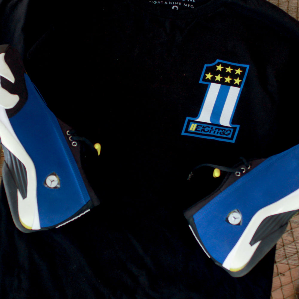 day 1 matching jordan 14 laney shirt