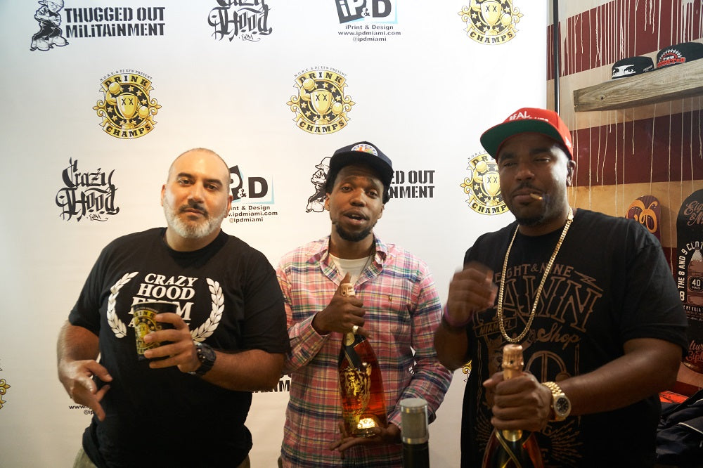 Drink Champs Ep. 8 With Curren$y