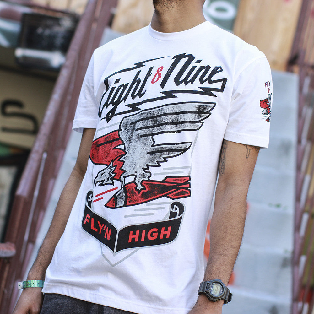 flying jordan 4 cement shirt